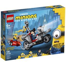 LEGO® Minyonok Megállíthatatlan motoros üldözés 75549