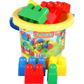 Maxi Blocks vödrös építőkocka készlet