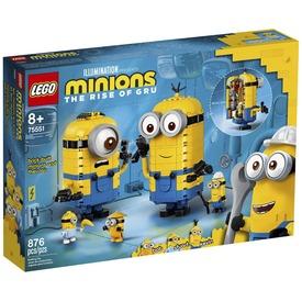 LEGO 75551 Kocka minyonok és barlangjuk