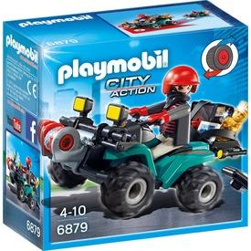Playmobil Műkincsrabló és quad készlet 6879