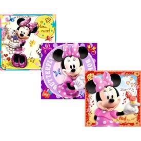 Minnie egér 25, 36 és 49 darabos puzzle