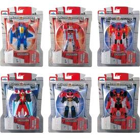 Super Hero átalakítható robot - 13 cm, többféle