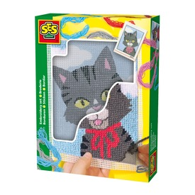 SES cica hímzőkészlet