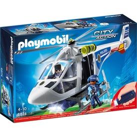 Playmobil Rendőrhelikopter keresőreflektorral 6921