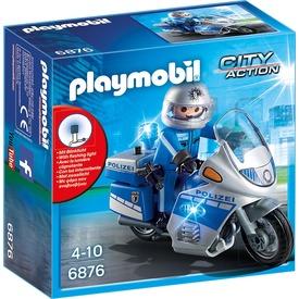 Playmobil Rendőrmotor villogóval 6923