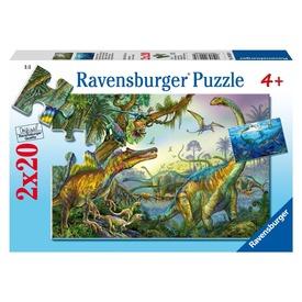 Dinoszauruszok 2 x 20 darabos puzzle Itt egy ajánlat található, a bővebben gombra kattintva, további információkat talál a termékről.