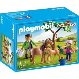 Playmobil Állatorvos lóval és pónival 6949