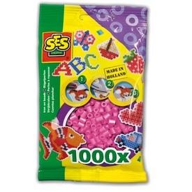 Vasalható gyöngy 1000 darabos - rózsaszín