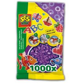 Vasalható gyöngy 1000 darabos - lila
