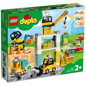 LEGO® DUPLO TOWN Toronydaru és építkezés 10933