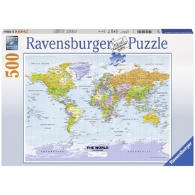 Politikai világtérkép 500 darabos puzzle Itt egy ajánlat található, a bővebben gombra kattintva, további információkat talál a termékről.