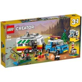 LEGO® Creator Családi vakáció lakókocsival 31108