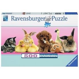 Állati barátok 500 darabos puzzle Itt egy ajánlat található, a bővebben gombra kattintva, további információkat talál a termékről.