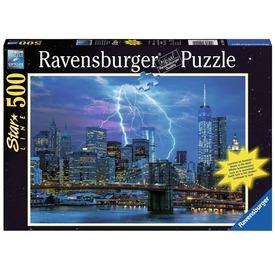 Villám New York felett 500 darabos puzzle