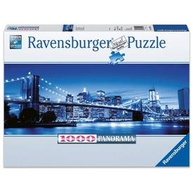New York fényei 1000 darabos panoráma puzzle