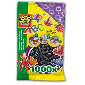 Vasalható gyöngy 1000 darabos - fekete