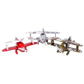 Classic Wing fém repülőgép - 11 cm, többféle