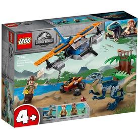 LEGO® Jurassic World™ Velociraptor: Kétfedelű repülőgépes mentőakció 75942