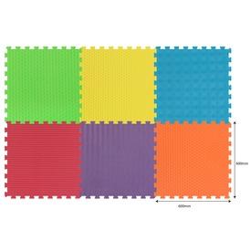 Szivacsszőnyeg tornához 6színű