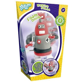 Robot pillegyurma készlet - piros