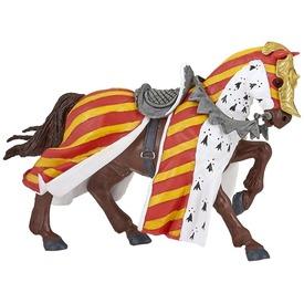 Ló harci díszben