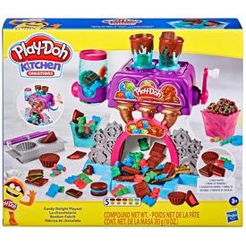 Play-doh csokigyár gyurma készlet