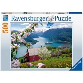 Puzzle 500 db - Skandináv idill
