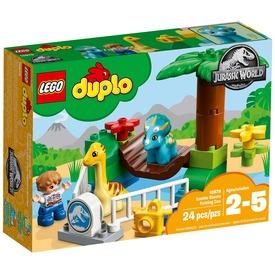 LEGO DUPLO Jurassic World 10879 Szelíd óriások állatkerti simogatója