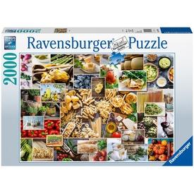 Puzzle 2 000 db - Étel kollázs