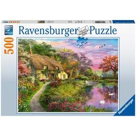 Puzzle 500 db - Vidéki házikó