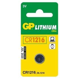 GP Lithium CR1216 gombelem Itt egy ajánlat található, a bővebben gombra kattintva, további információkat talál a termékről.