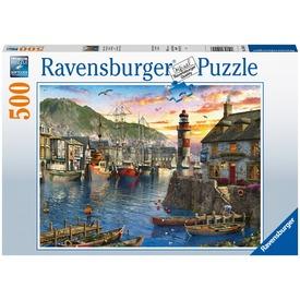 Puzzle 500 db - Reggeli kikötő