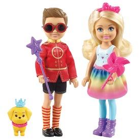 Barbie Dreamtopia Chelsea és Ottó szett FRB