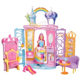 Barbie Dreamtopia kastély babával készlet