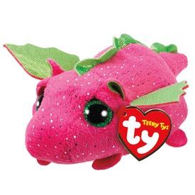 Darby sárkány plüssfigura - rózsaszín, 10 cm