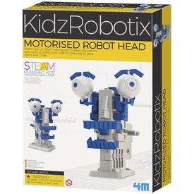 Motorizált robotfej