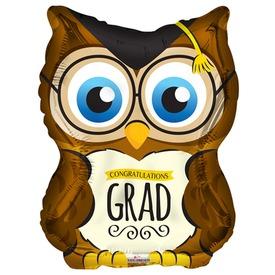 70 cm-es Congratulations Grad bagoly fólia lufi