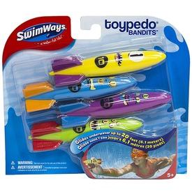 Toypedo Bandits vízi rakéta 4 darabos készlet