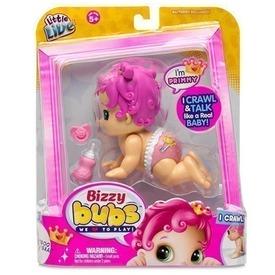 Bizzy Bubs izgő-mozgó baba - 13 cm, többféle