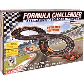 Formula Challenger elektromos autópálya - 2, 3 m Itt egy ajánlat található, a bővebben gombra kattintva, további információkat talál a termékről.