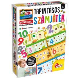 Montessori- Számok és mennyiségek tapintójáték