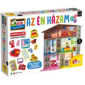 Montessori- Az én házam rendszerező játék