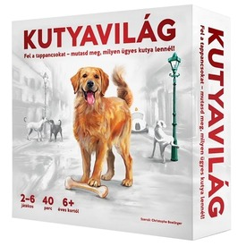 Kutyavilág - családi társas  Itt egy ajánlat található, a bővebben gombra kattintva, további információkat talál a termékről.