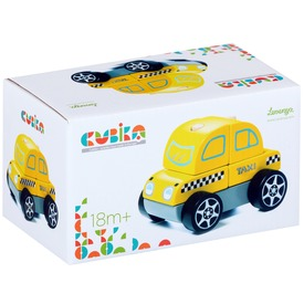 Fa taxi autó - sárga