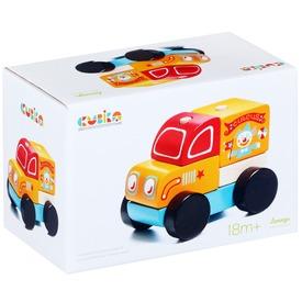 Fa cirkuszi teherautó - narancssárga