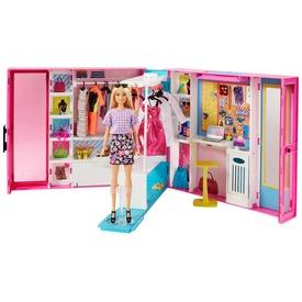 Barbie álom öltözőszoba babával