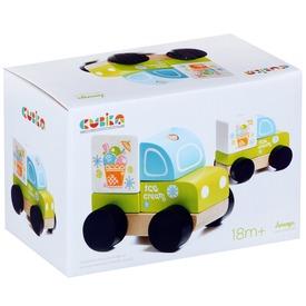 Fa fagyis autó - zöld