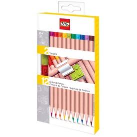 LEGO 12 darabos ceruzakészlet dísszel