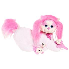 Puppy surprise Mandy plüsskutya kölykökkel