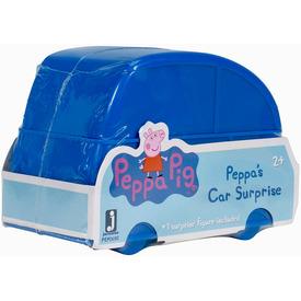 Peppa meglepetés figura autó